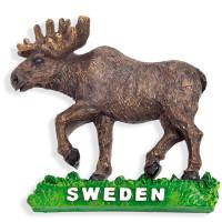 19098-Magnet-Älg-Sweden