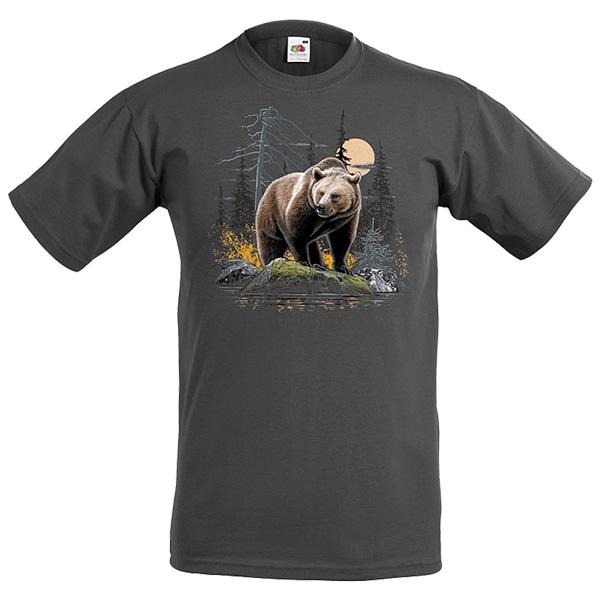 Vuxen svart björn